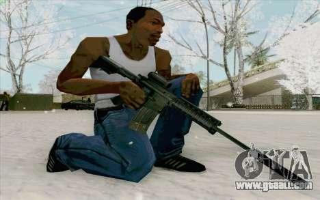 The M4a1 for GTA San Andreas third screenshot