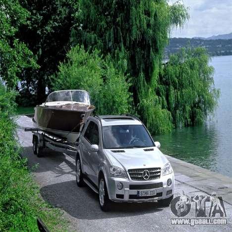 Loading screens Mercedes-Benz for GTA 4 second screenshot