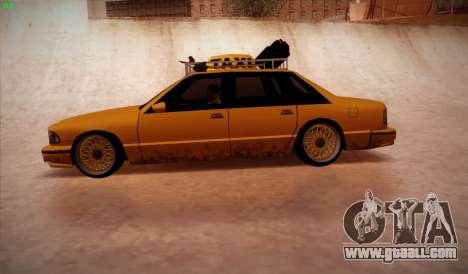 New taxi for GTA San Andreas left view