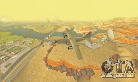 Hercules GTA V for GTA San Andreas inner view