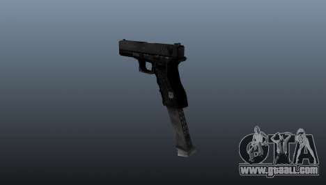 Glock 18 Akimbo MW2 v1 for GTA 4 second screenshot