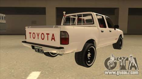 Toyota Hilux 2004 for GTA San Andreas right view