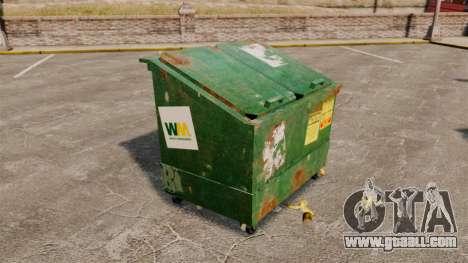 Dumpsters, Waste Management Inc. for GTA 4 third screenshot