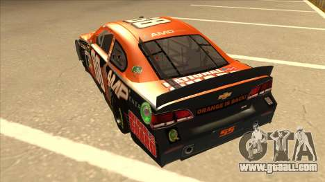 Chevrolet SS NASCAR No. 88 Amp Energy for GTA San Andreas back view