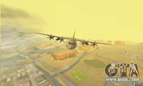 Hercules GTA V for GTA San Andreas upper view