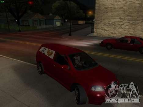 Opel Astra G Caravan Tuning for GTA San Andreas right view