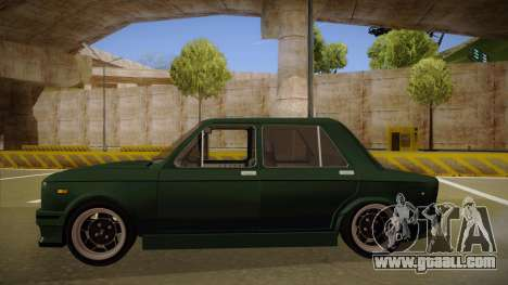 Fiat 128 Europe V Tuned for GTA San Andreas back left view