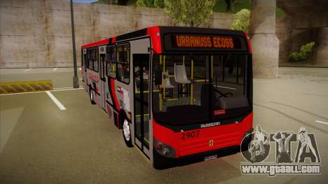 Busscar Urbanuss Ecoss MB OF 1722 M Busmania for GTA San Andreas left view