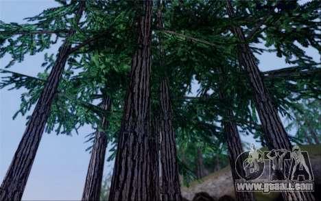 New vegetation 2013 for GTA San Andreas seventh screenshot