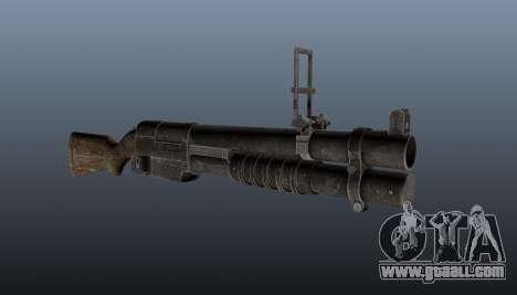 EX 41 grenade launcher for GTA 4