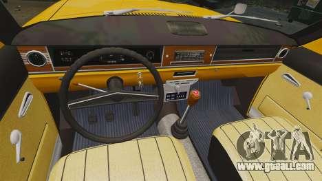 Gaz-24-02 Volga Taxi for GTA 4 back view