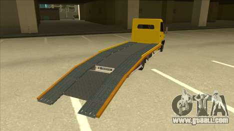 Mercedes-Benz Vario Towtruck for GTA San Andreas right view