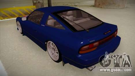 Nissan 240sx JDM style for GTA San Andreas back view