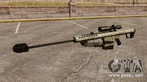 The Barrett M82 sniper rifle v6 for GTA 4 third screenshot