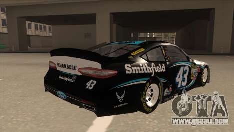 Ford Fusion NASCAR No. 43 Smithfield Foods for GTA San Andreas right view