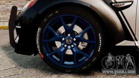 Mazda RX-8 R3 2011 Police for GTA 4 back view