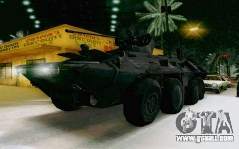BTR-80 for GTA San Andreas right view