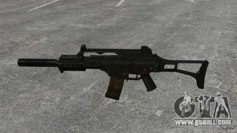 HK G36C assault rifle v2 for GTA 4 third screenshot