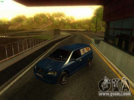 Opel Astra G Caravan Tuning for GTA San Andreas back left view