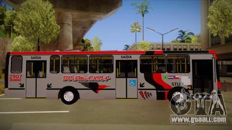 Busscar Urbanuss Ecoss MB OF 1722 M Busmania for GTA San Andreas back left view