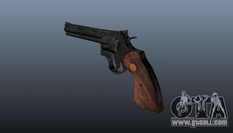 Revolver Colt Python 357 for GTA 4 second screenshot
