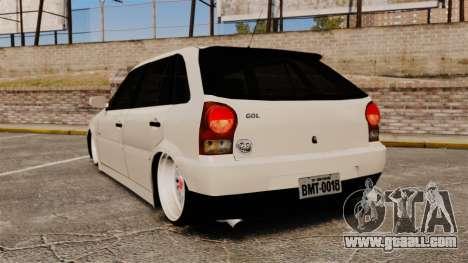 Volkswagen Gol G4 BBS for GTA 4 back left view