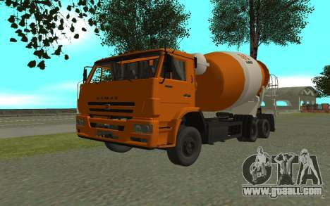 KAMAZ 6520 Cement for GTA San Andreas
