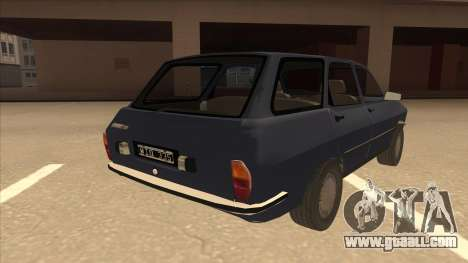Renault 12 Break for GTA San Andreas right view