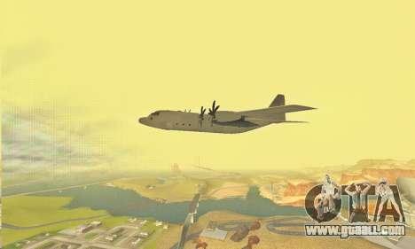 Hercules GTA V for GTA San Andreas side view