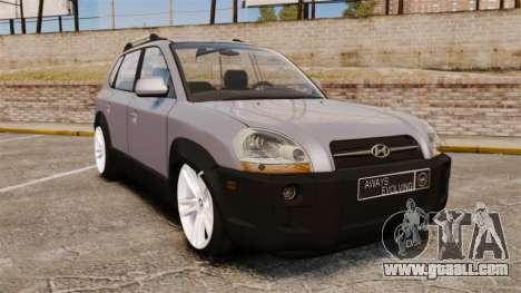 Hyundai Tucson for GTA 4