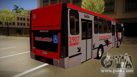 Busscar Urbanuss Ecoss MB OF 1722 M Busmania for GTA San Andreas right view
