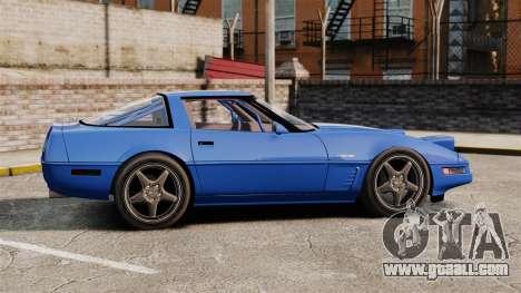 Chevrolet Corvette C4 1996 v2 for GTA 4 left view