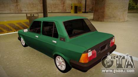 Fiat 128 Super Europa for GTA San Andreas back view