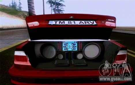 BMW M3 Cabrio for GTA San Andreas engine