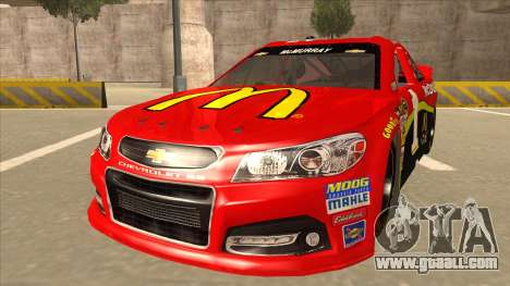 Chevrolet SS NASCAR No. 1 McDonalds for GTA San Andreas