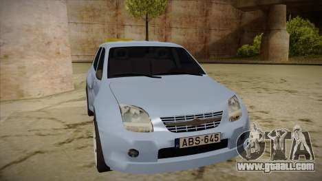 Suzuki Ignis for GTA San Andreas left view