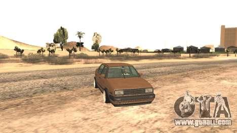 Volkswagen Jetta MK2 for GTA San Andreas right view