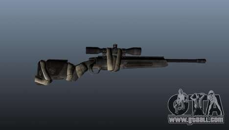Sniper rifle Steyr Elite for GTA 4 third screenshot