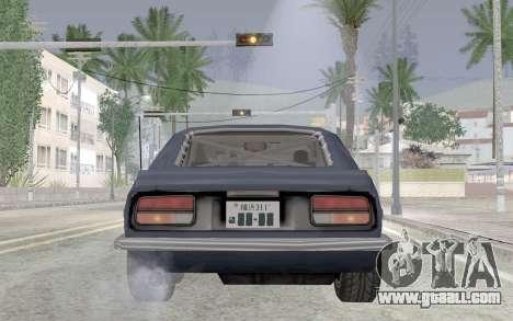 Nissan Fairlady Z AKUMA for GTA San Andreas back view