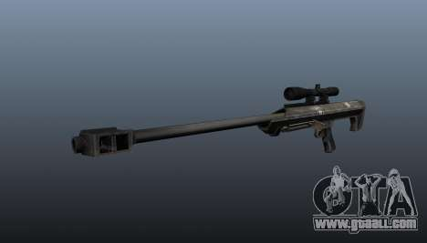 Barrett M99 sniper rifle for GTA 4