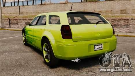 Dodge Magnum West Coast Customs for GTA 4 back left view
