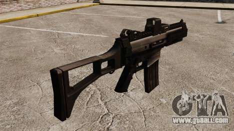 Automatic Crius SMG v2 for GTA 4 second screenshot