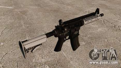 Automatic carbine M4 VLTOR v5 for GTA 4 second screenshot