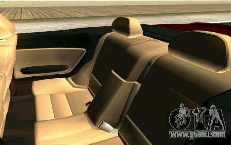 BMW M3 Cabrio for GTA San Andreas bottom view