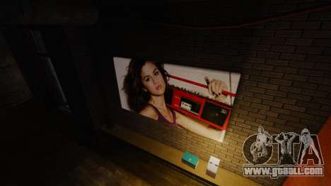 New posters in the apartment of Playboy X for GTA 4 second screenshot