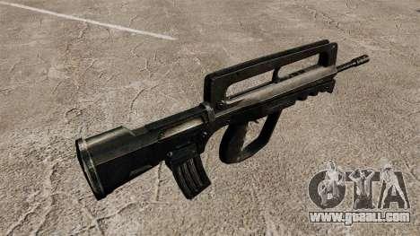 Assault Rifle FAMAS for GTA 4 second screenshot
