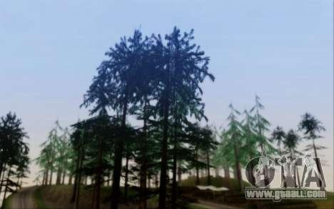 New vegetation 2013 for GTA San Andreas second screenshot