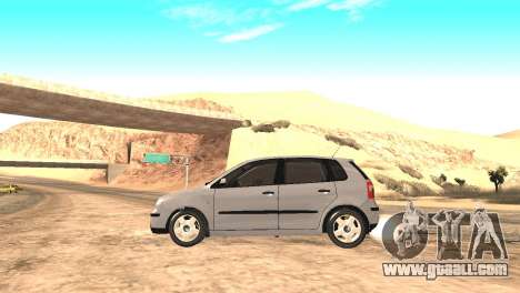 Volkswagen Polo 2.0 2005 for GTA San Andreas back left view