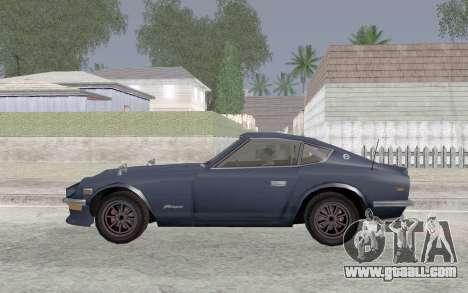 Nissan Fairlady Z AKUMA for GTA San Andreas left view
