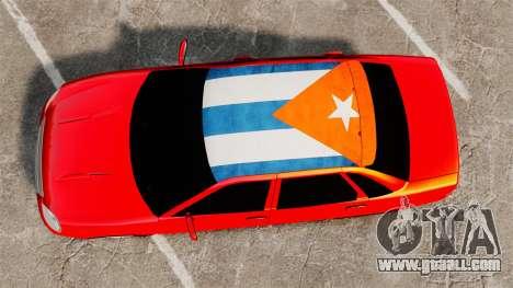 Lada Priora Cuba for GTA 4 right view